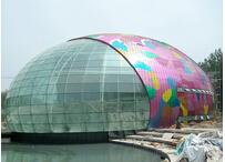 重庆富力城售楼处球蛋状形